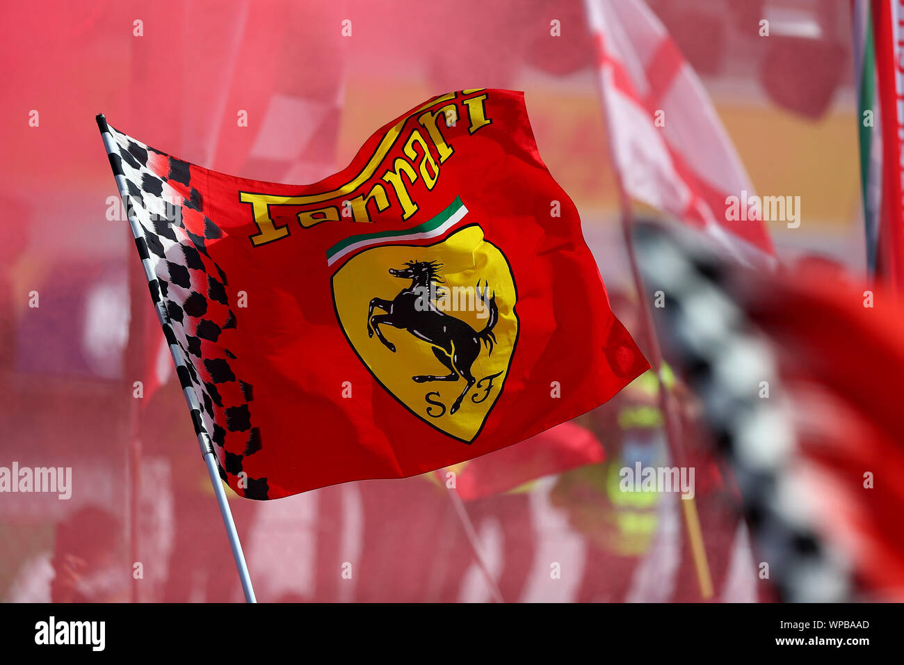 Ferrari Flag High Resolution Stock Photography And Images Alamy