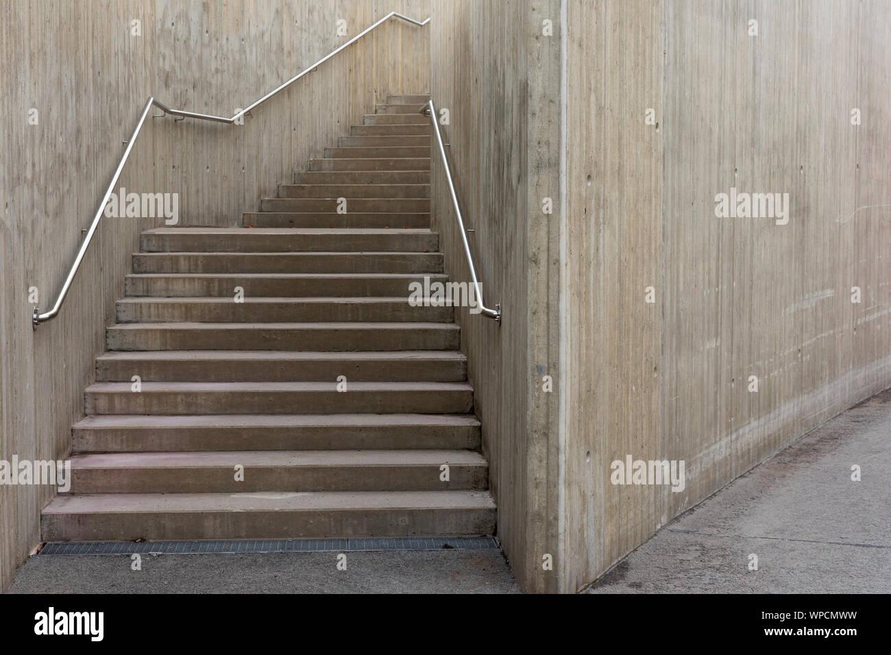 Concrete Construction in Tallin Estonia Stock Photo