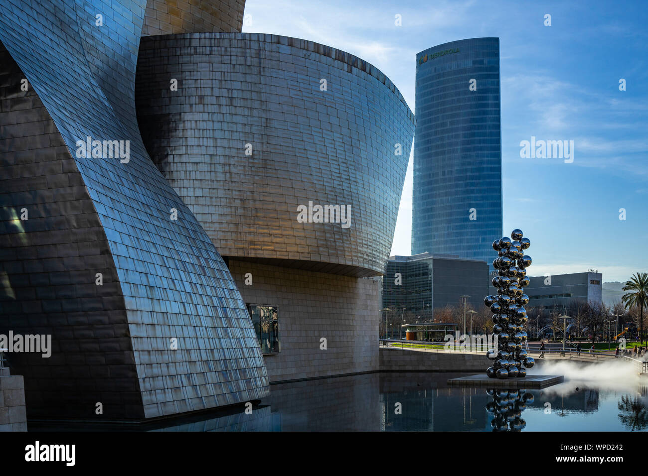 Beautiful Modern Architecture Of Guggenheim Museum And