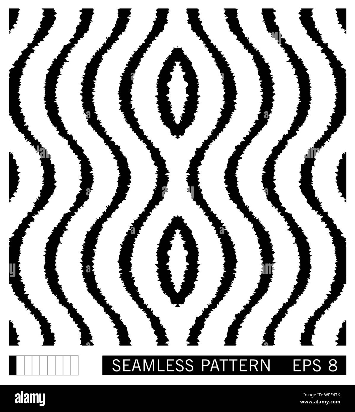 digital batik high resolution stock photography and images alamy https www alamy com seamless pattern with wavy grunge lines ikat style shibori vector ornament design black and white background image271988631 html