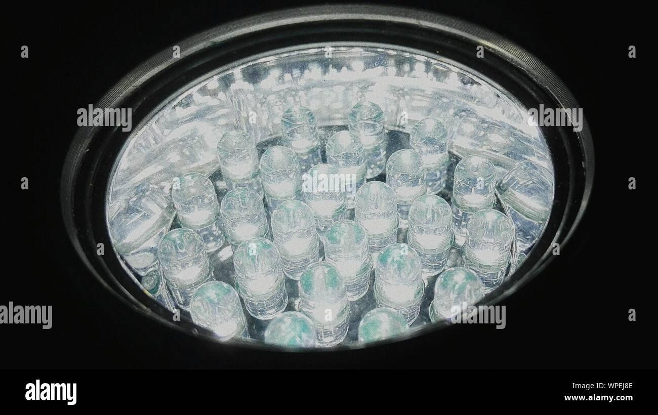 Illuminated Led Bulb Stock Photo