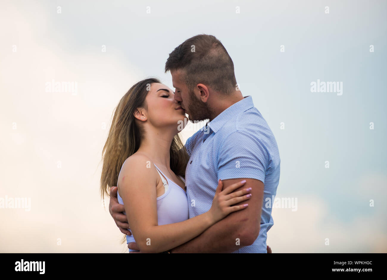 Just Married Honeymoon Concept Romantic Relations True Love Family Love Couple In Love Cute Relationship Man And Woman Cuddle Nature Background Supporting Her Together Forever Love Story Stock Photo Alamy