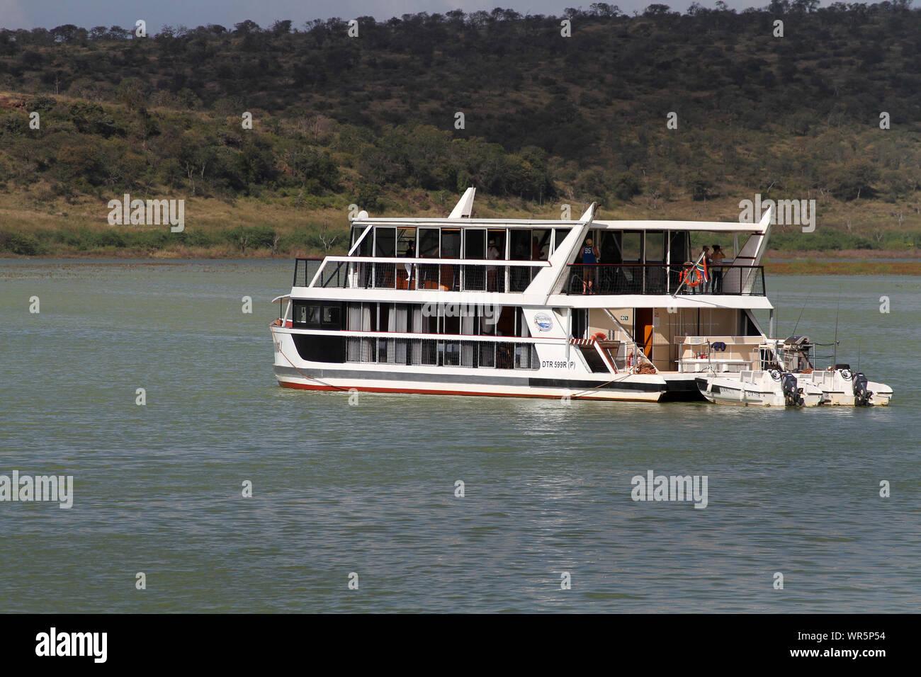 Boat cruise, Pongolapoort Dam, South Africa Stock Photo