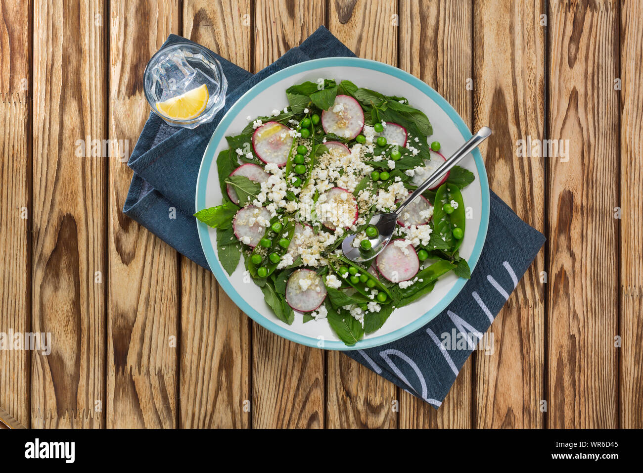 avocado, sheet pan, sugar snap peas, fennel, cucumber salad, beet salad recipe, beet salad recipe, quinoa salad, fennel radish Stock Photo
