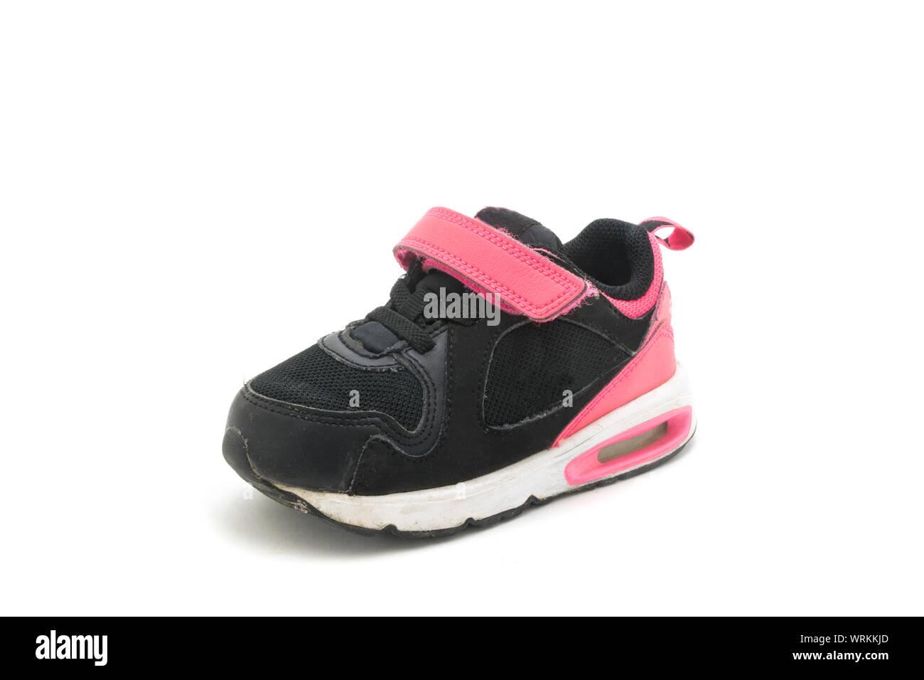 Supra Atom Toddler black red white little Kids elastic shoelaces