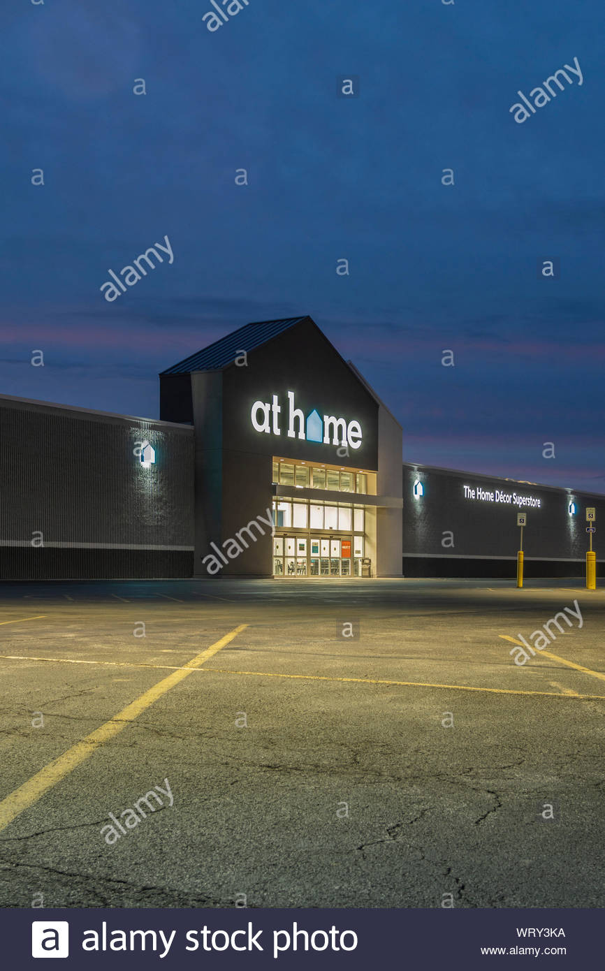 New Hartford Ny September 09 2019 Exterior Night View