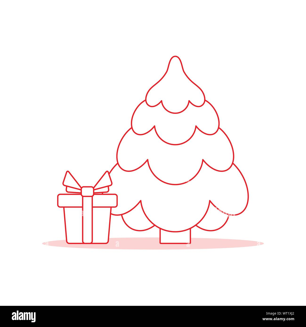 happy new year 2020 merry christmas vector illustration with christmas tree gift design for web page presentation print stock vector image art alamy https www alamy com happy new year 2020 merry christmas vector illustration with christmas tree gift design for web page presentation print image272950106 html