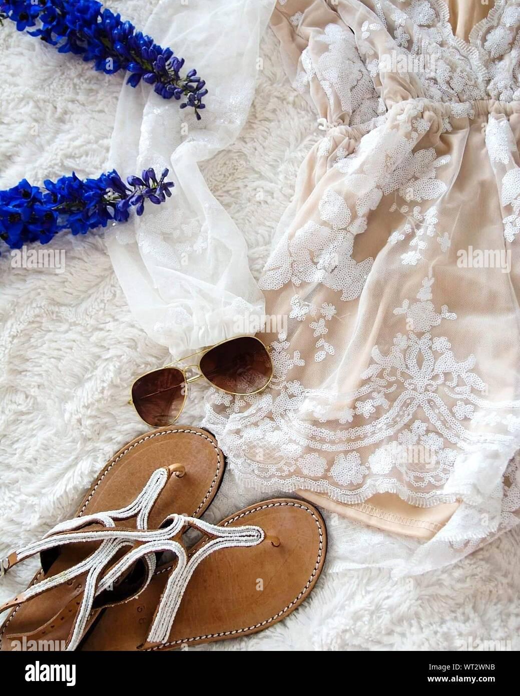 Sandals And Sunglasses On Wedding Dress Stock Photo Alamy,Wedding Dresses For Mens In Sri Lanka