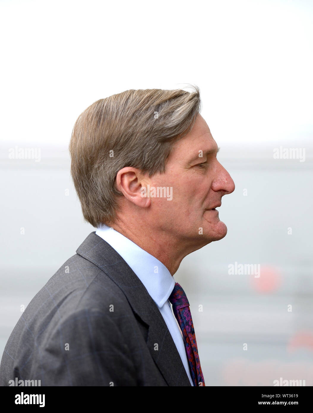 Dominic Grieve MP (Conservative: Beaconsfield) Westminster, September 2019 Stock Photo