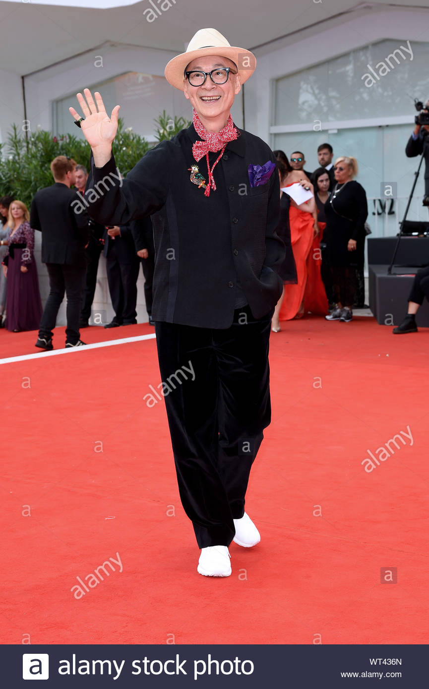 Yonfan Venezia, 07/09/2019 76th Venice film Festival Stock Photo
