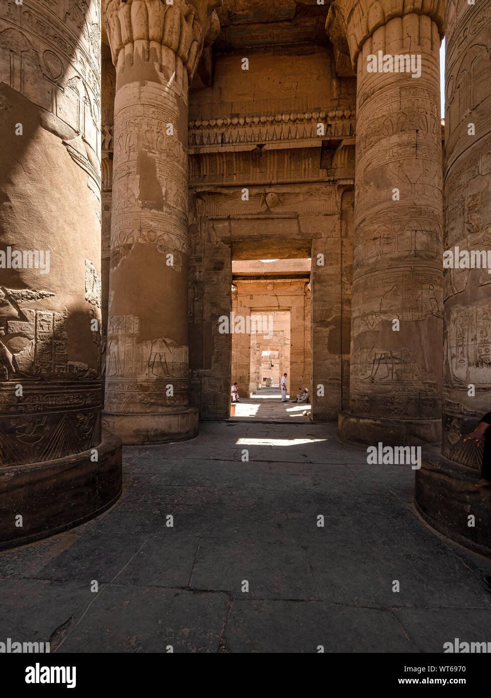 Kom Ombo, Temple of Sobek Stock Photo