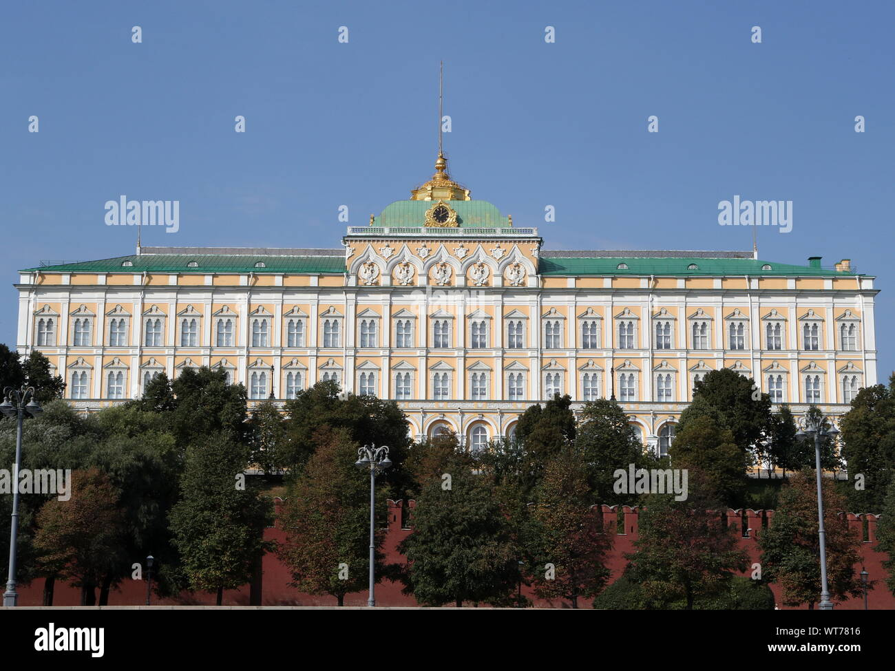 Moscow, Russia. 11th Sep, 2019. MOSCOW, RUSSIA - SEPTEMBER 11, 2019: A view of the Moscow Kremlin. Sergei Karpukhin/TASS Credit: ITAR-TASS News Agency/Alamy Live News Stock Photo