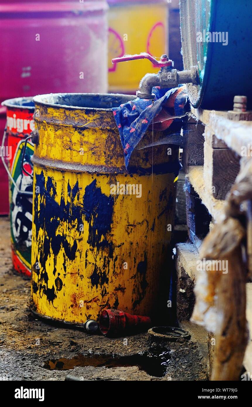 Paint Storage Container High Resolution Stock Photography And Images Alamy