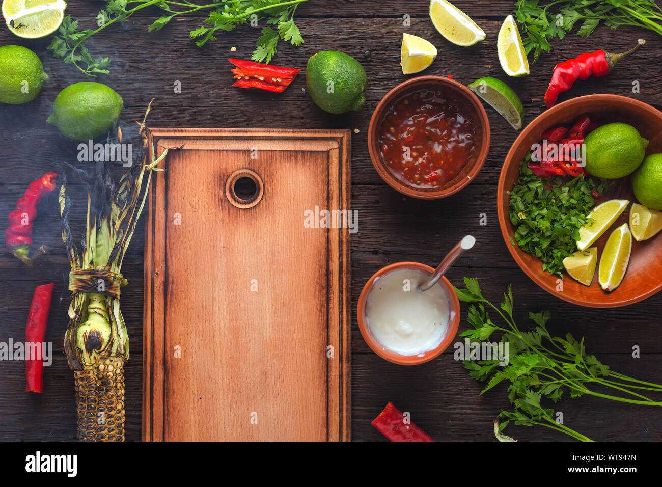 Thanksgiving Day, mexican, food, native american, latin american, latin america, cambodian cuisine, grilling recipes, grilled chicken, mexican street Stock Photo