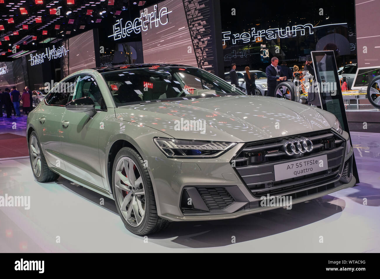 Audi Cars On Iaa 2019 International Automobile Exhibition Frankfurt Am Main Germany Stock Photo Alamy