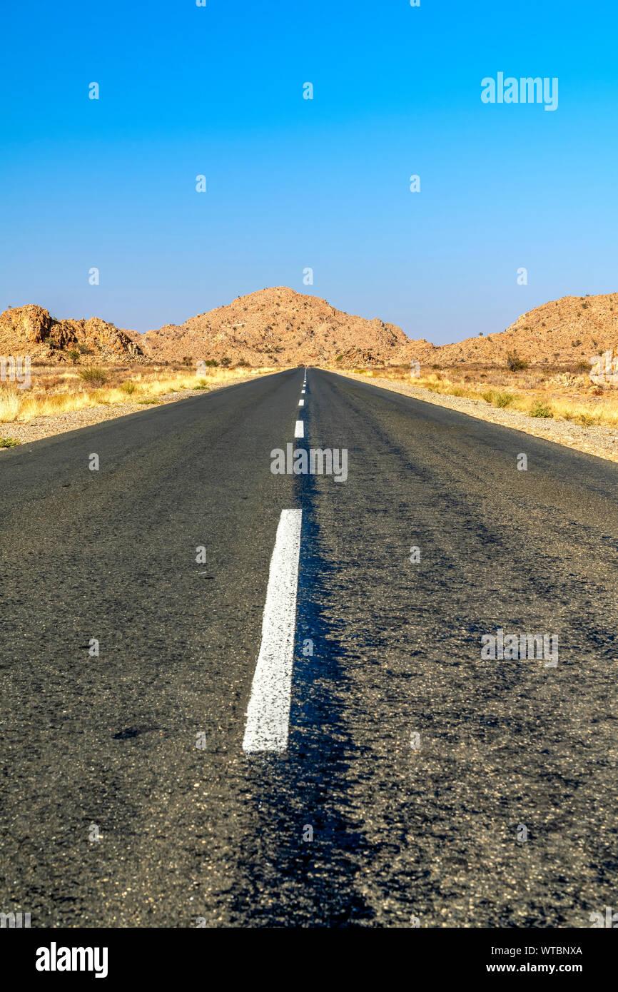 B1 National Route near Keetmanshoop, Karas, Namibia Stock Photo
