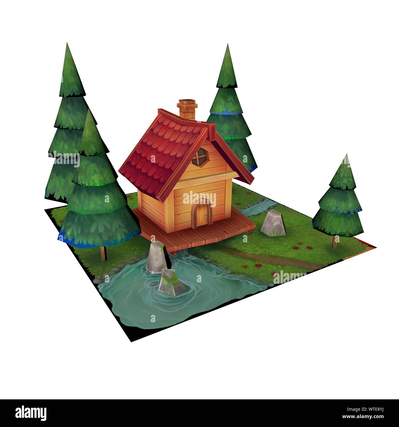 3d Render Of A House Home And Lawn With Surrounding Trees Kids And Cartoon Style Dreamy House 3d Illustration On A 4k White Background Stock Photo Alamy Tga, psd free download this 3d objects and put it into your scene. https www alamy com 3d render of a house home and lawn with surrounding trees kids and cartoon style dreamy house 3d illustration on a 4k white background image273221638 html