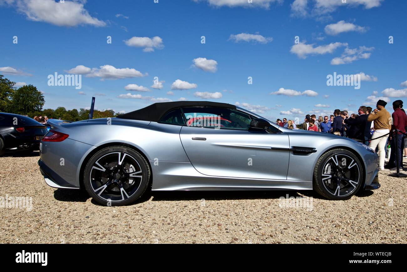 Aston Martin Vanquish Volante On Show At The Concours D Elegance At Blenheim Palace On The 8th September 2019 Stock Photo Alamy