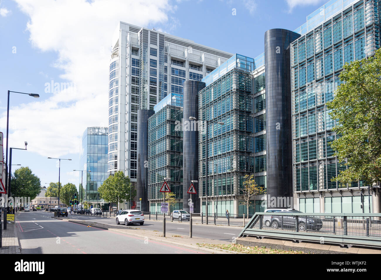 Regent's Place, Euston Road, Fitzrovia, London Borough of Camden, Greater London, England, United Kingdom Stock Photo
