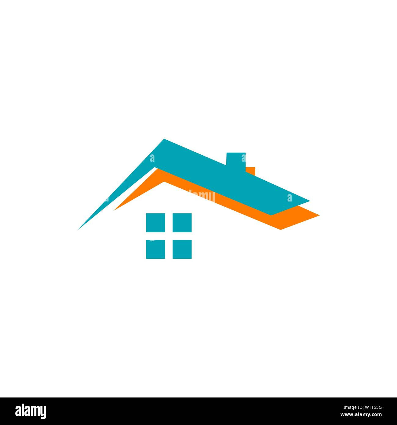 Concept And Idea Of Apartment House Realty Logo Design