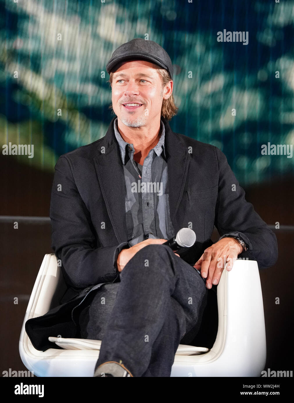movie 2019 brad pitt Actor Brad Pitt Attends The Press Conference For His Movie
