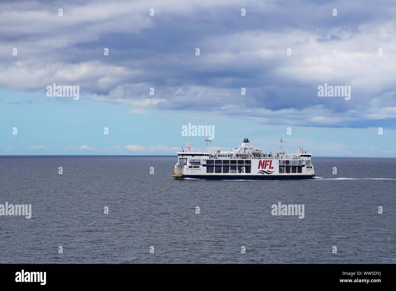Northumberland Ferry Ltd (NFL) crossing from Nova Scotia to Prince Edward Island, Canada Stock Photo