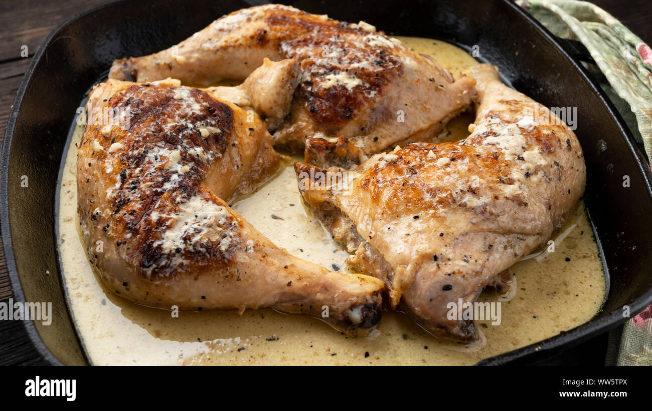 chicken, spicy roasted, delicious spicy, fried chicken drumsticks, chicken leg steak, skinless chicken thighs, loin steak, korean fried Stock Photo