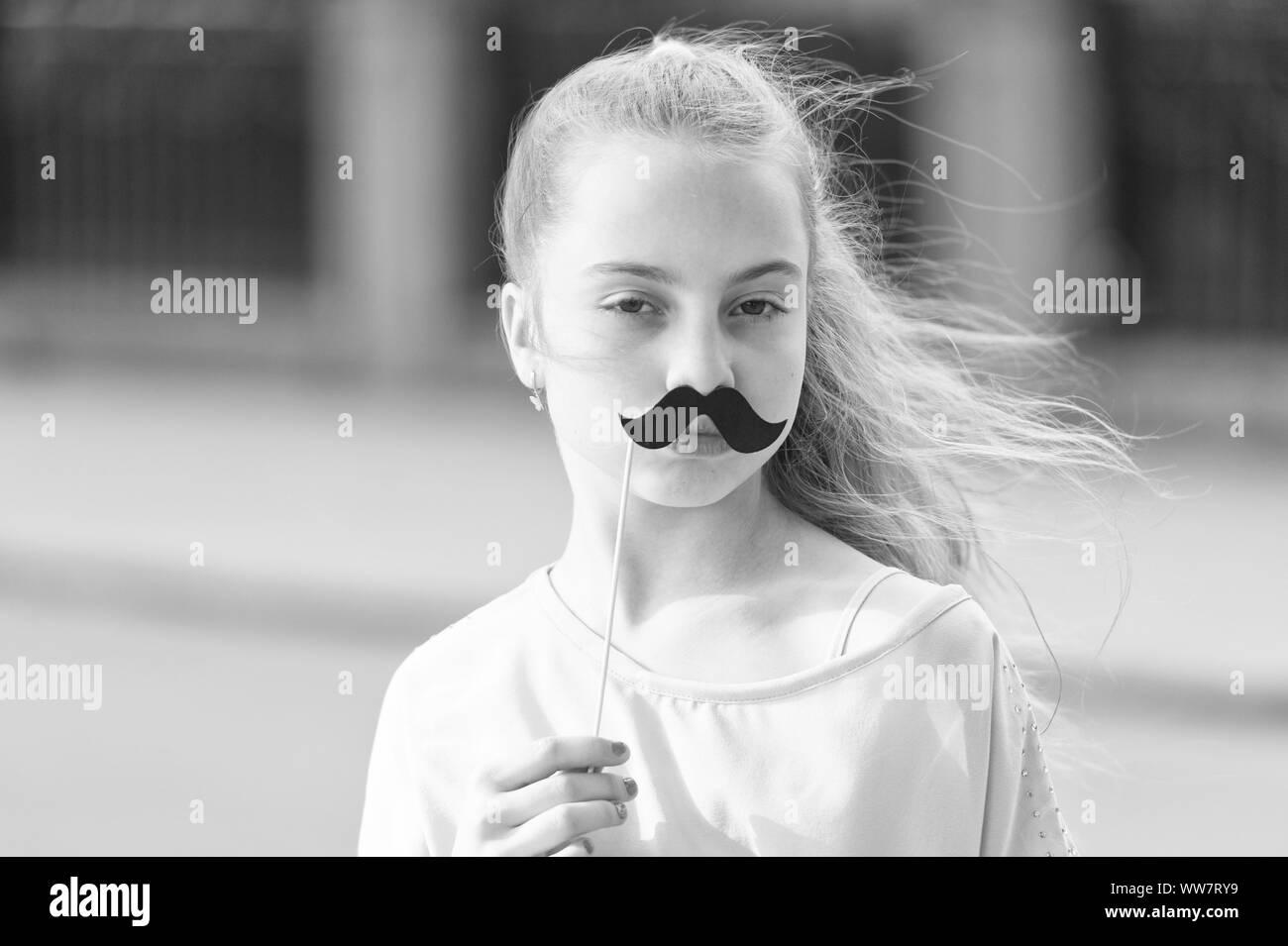 Fake Moustache Black And White Stock Photos Images Alamy