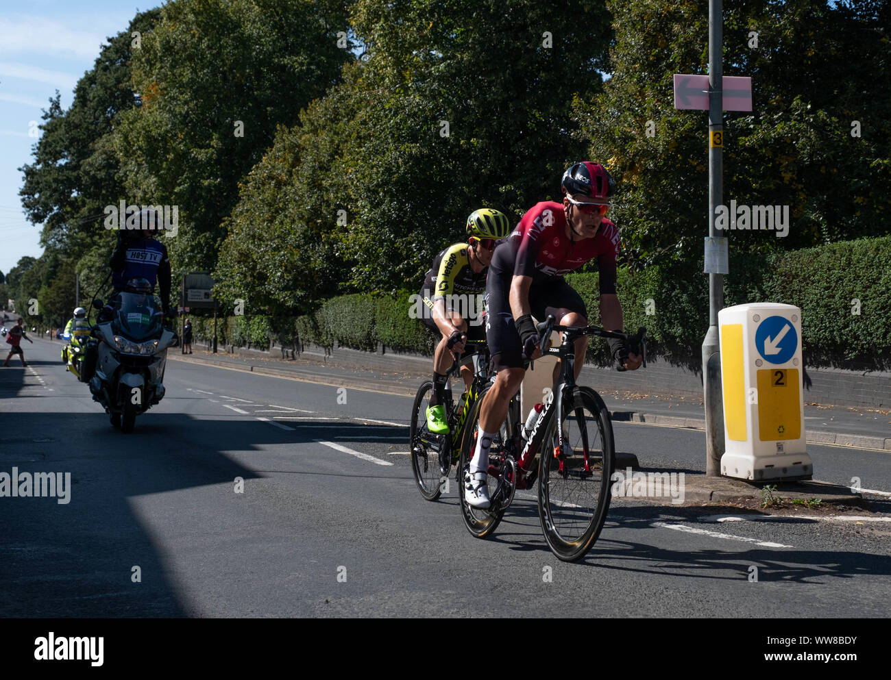 Bedworth, OVO Mens Cycle Tour Britain 2019 Stock Photo