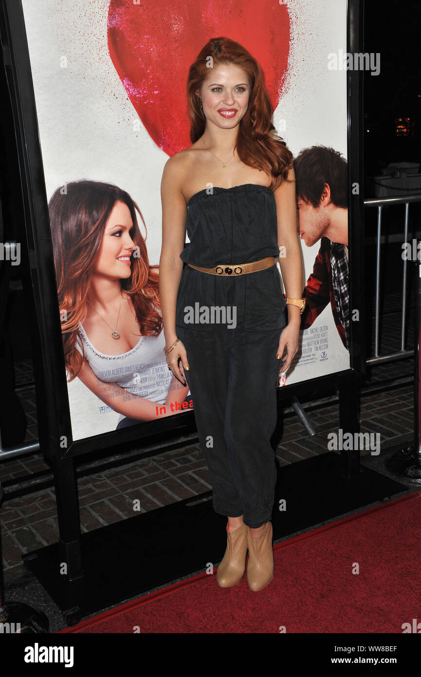 """LOS ANGELES, CA. February 01, 2011: Dancer Anna Trebunskaya at the Los Angeles premiere of """"Waiting for Forever"""" at the Pacific Theatres at The Grove. © 2011 Paul Smith / Featureflash Stock Photo"""
