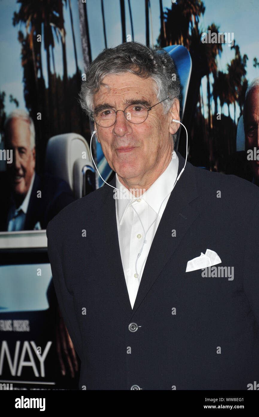 """LOS ANGELES, CA. March 22, 2011: Elliott Gould at the premiere of the HBO Documentary """"His Way"""", about legendary film producer & manager Jerry Weintraub, at Paramount Studios, Hollywood. © 2011 Paul Smith / Featureflash Stock Photo"""