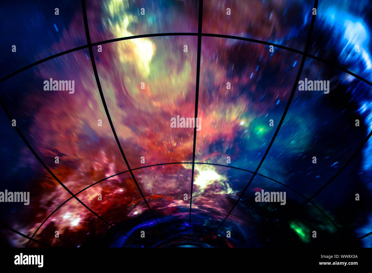 Colorful Artistic Neon And Modern Graphic Wallpaper Backdrop