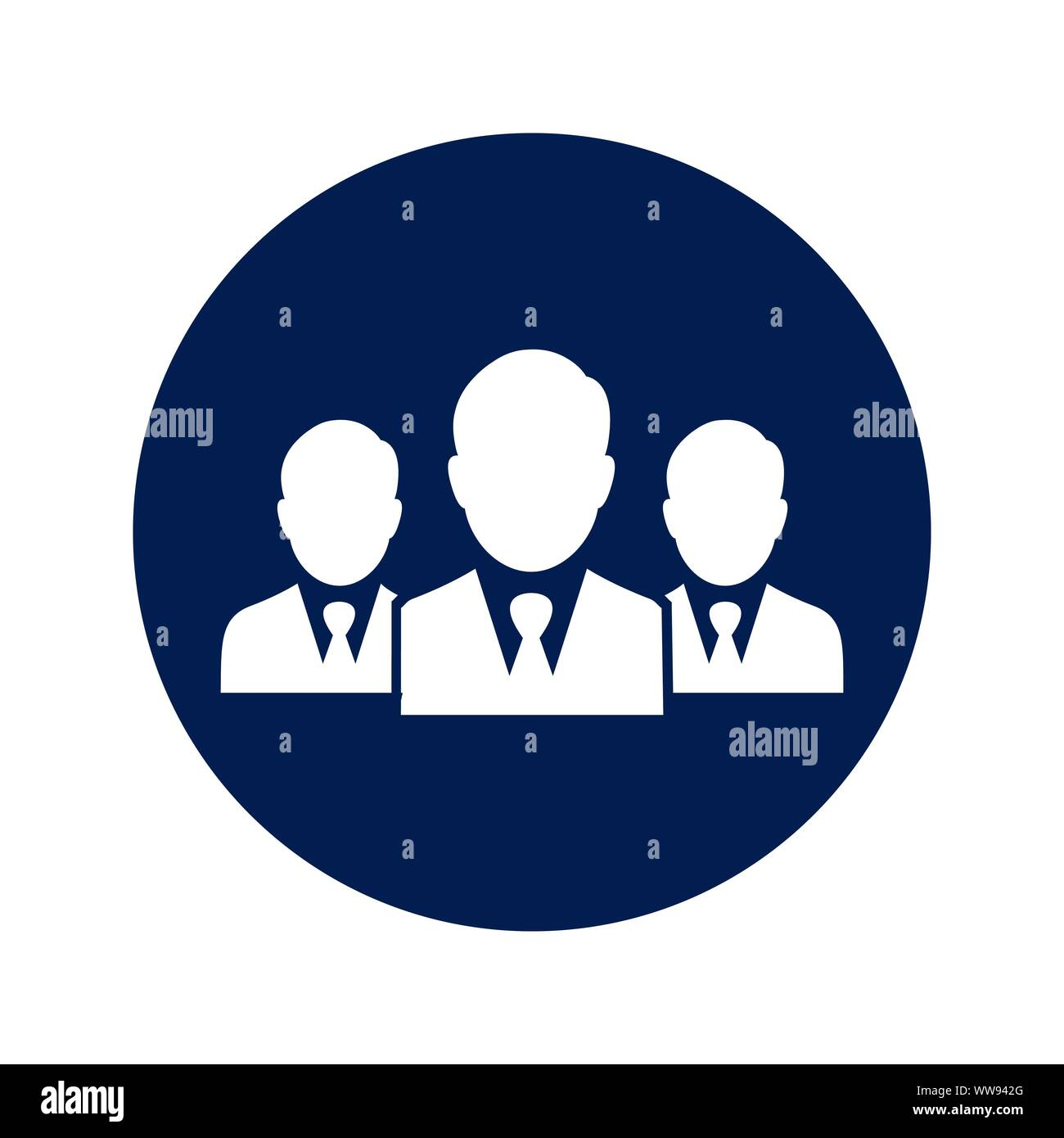 Business Team Leader Boss Leadership Icon Stock Vector Image Art Alamy