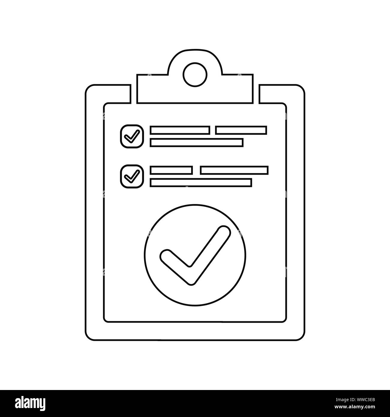 Beautiful design and fully editable Task Complete, Job done, Work Complete Icon for commercial, print media, web or any type of design projects. Stock Vector