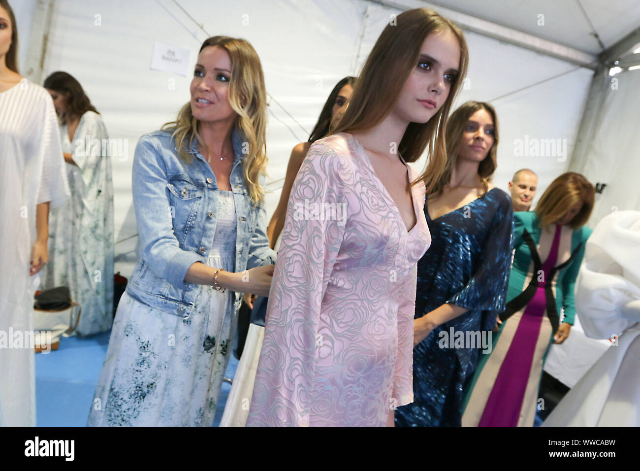 September 13 2019 14 September 2019 Malaga Barbara And Nicole Kimpel Present Their Sophisticated Brand At Larios Fashion Week Malaga Is In Fashion The City Has Once Again Become The National Capital