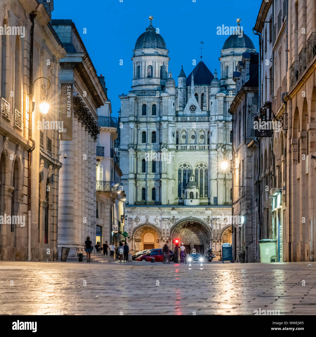 Saint Michel church , Dijon, Burgundy, Frankreich, Europa Stock Photo