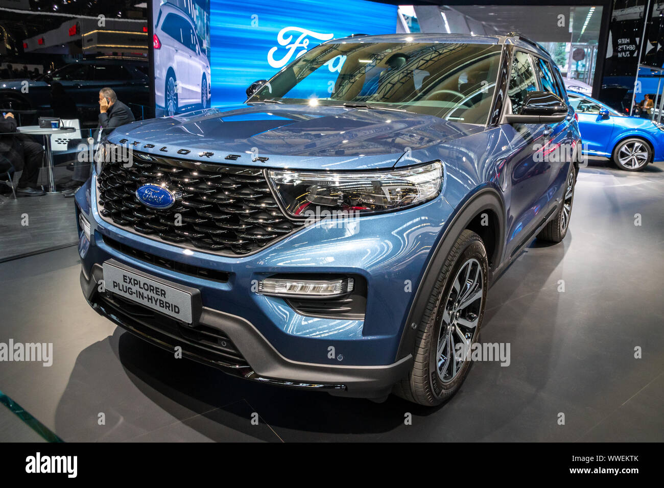 Frankfurt Germany Sep 10 2019 New 2020 Ford Explorer