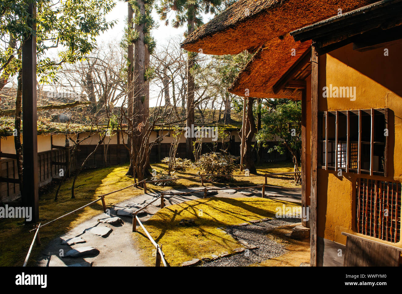 House Rural Japan Garden High Resolution Stock Photography And Images Alamy