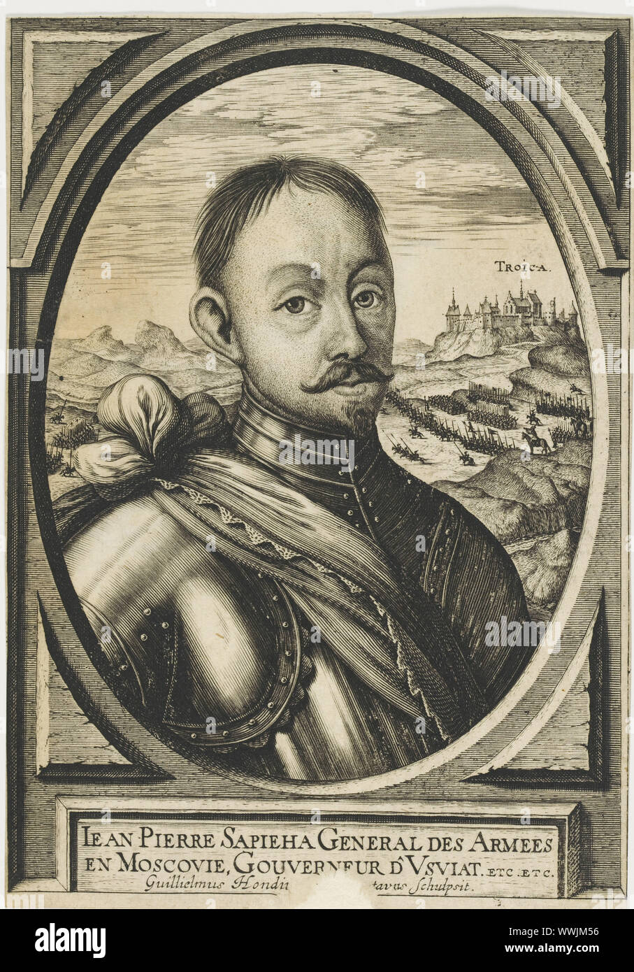 Jan Piotr Sapieha (1569-1611) , c.1630. Private Collection. Stock Photo
