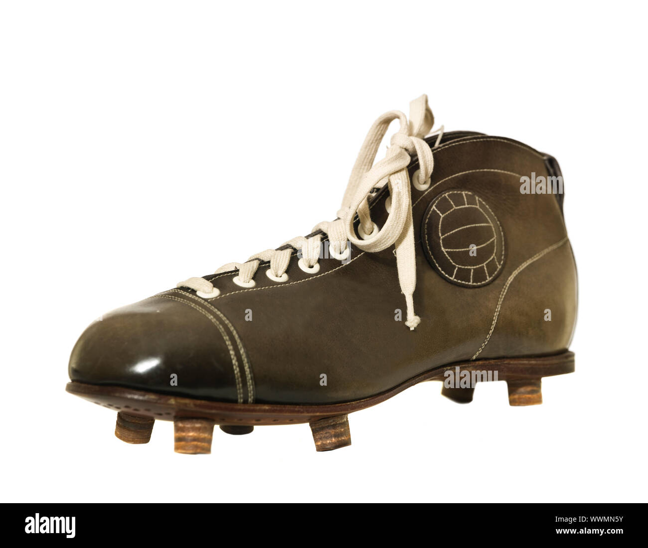 Antique Soccer Cleats High Resolution