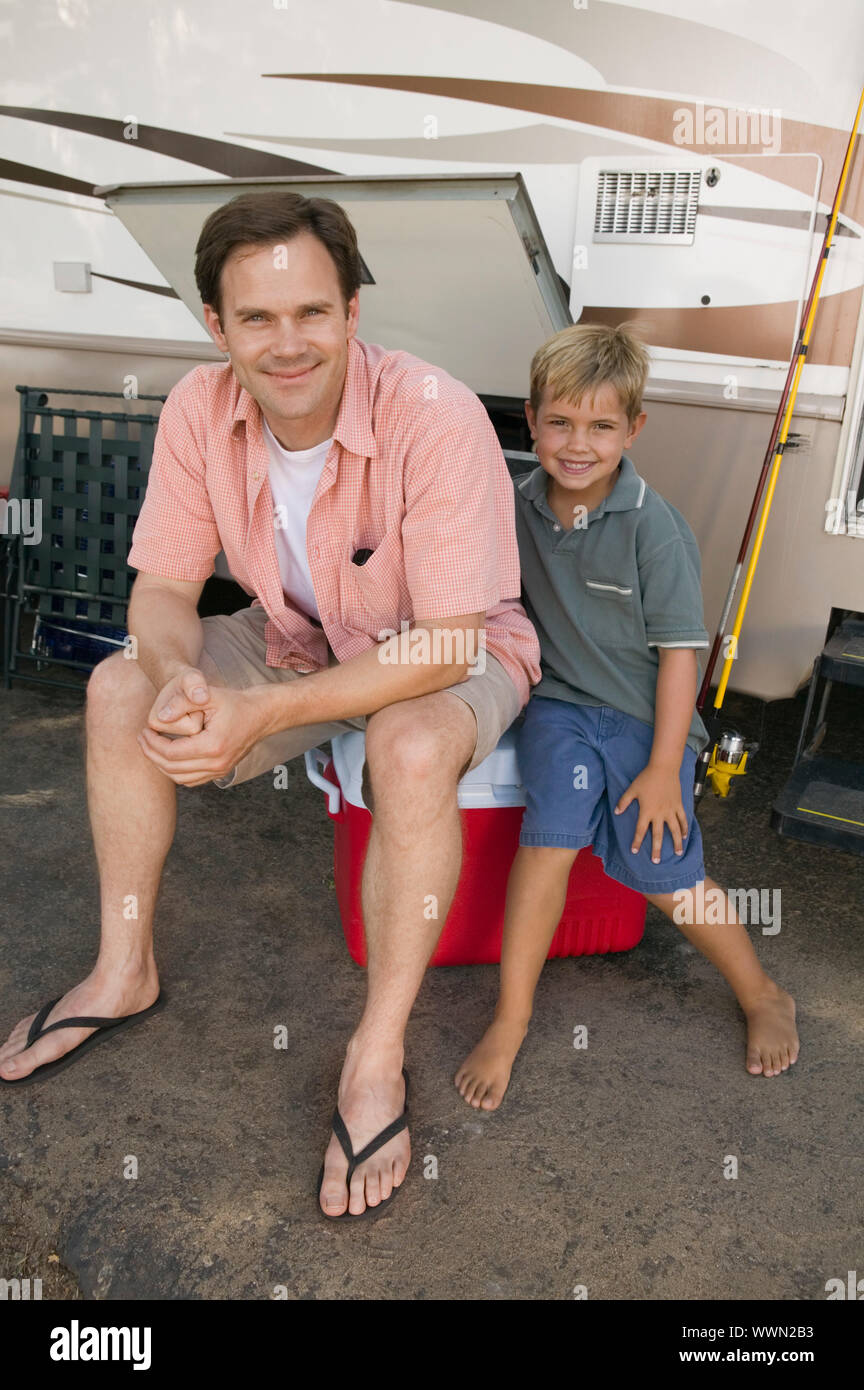 Father and Son by RV Stock Photo