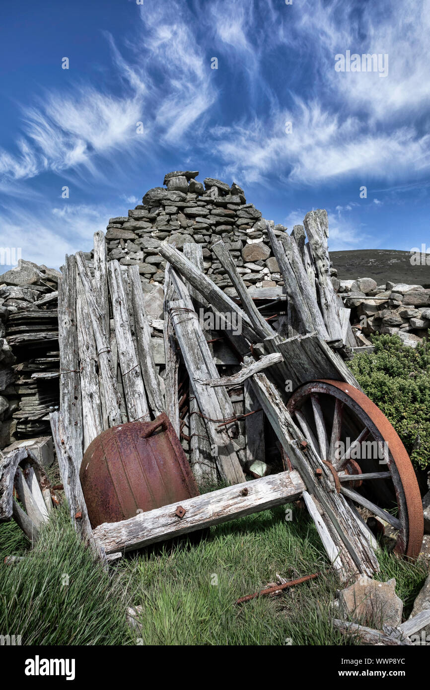 Carcass outhouse Stock Photo