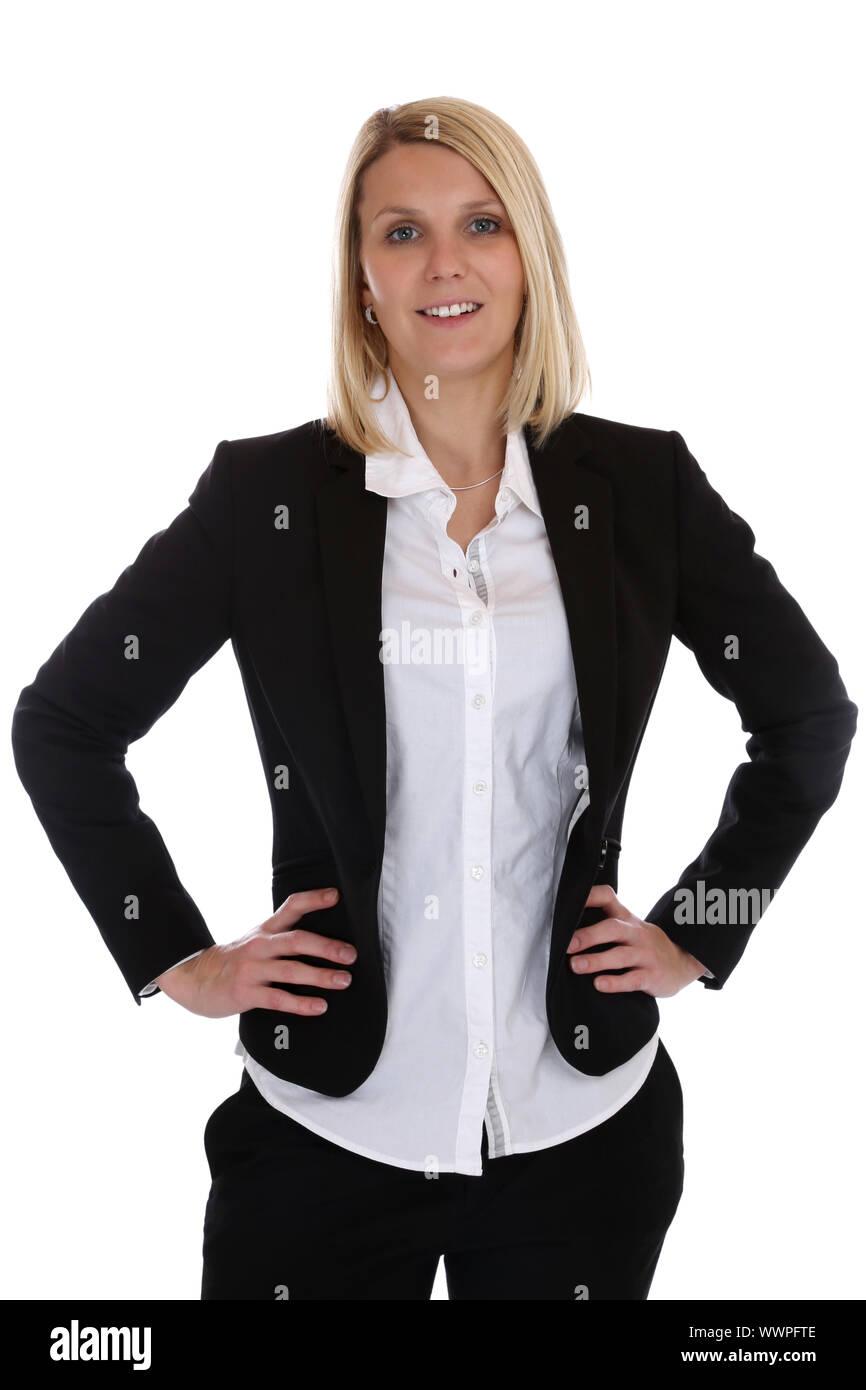 Businesswoman Portrait Suit Secretary Boss Business Woman