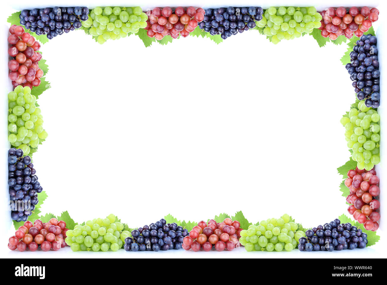 Grapes Grapes Grapes Fresh Fruits Fruit Frames Free Text Copyspace