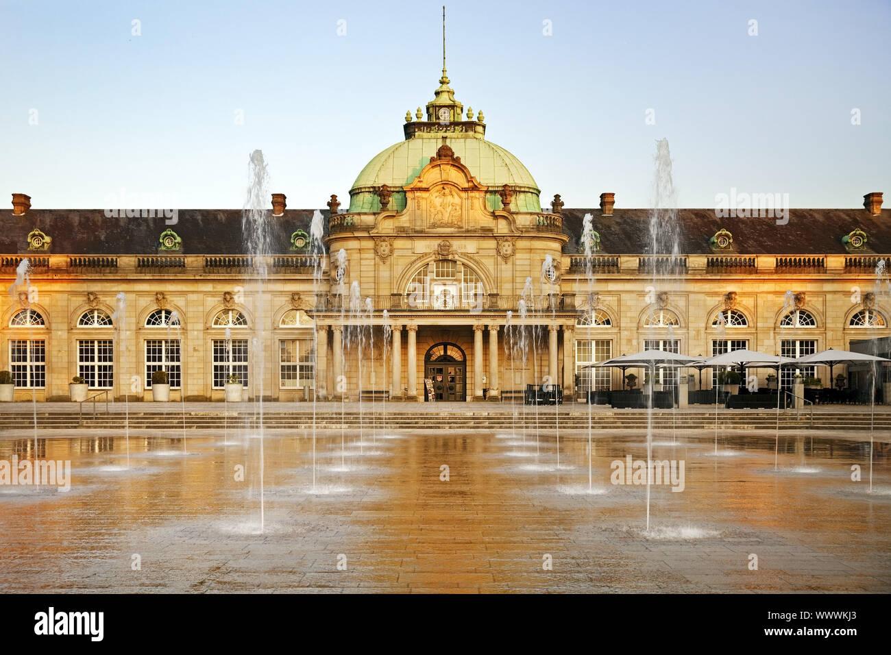 imperial palace, former kurhaus, Bad Oeynhausen, North Rhine-Westphalia, Germany, Europe Stock Photo
