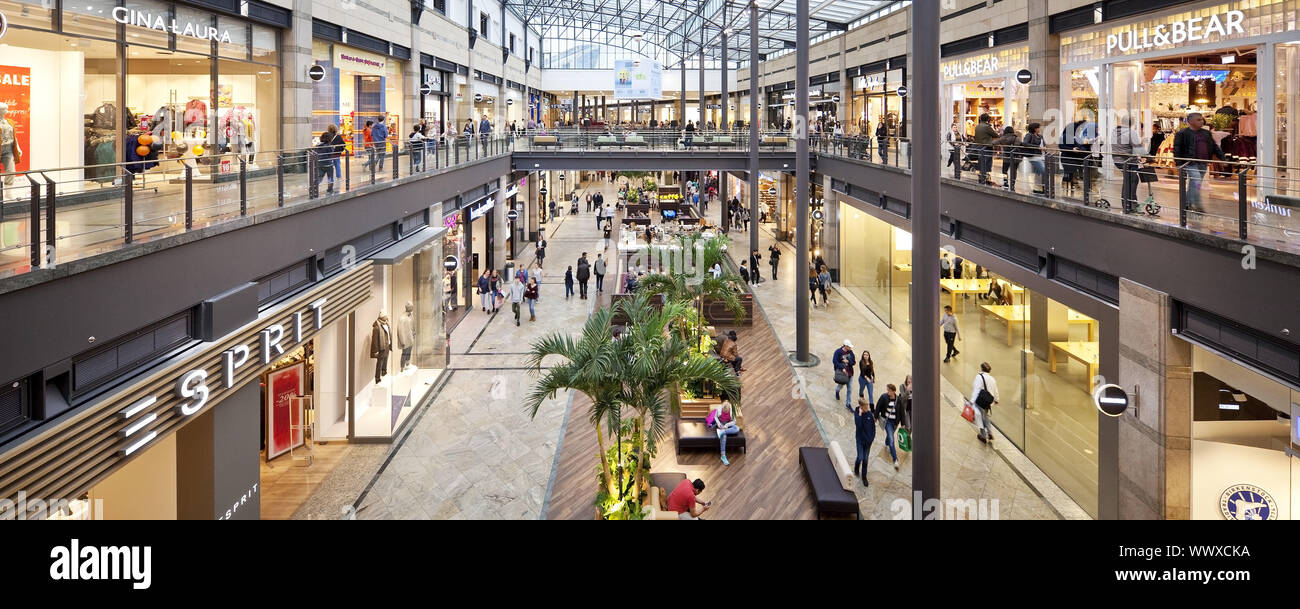 shopping centre CentrO, Oberhausen, Ruhr Area, North Rhine-Westphalia, Germany, Europe Stock Photo