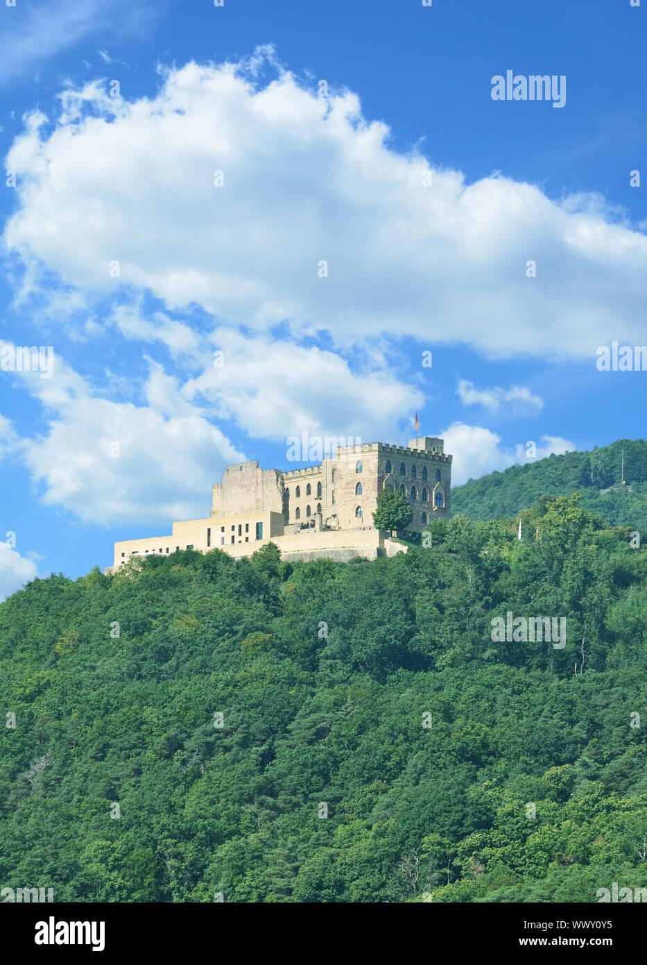 Hambach Castle near Neustadt an der Weinstrasse,Rhineland-Palatinate,Germany Stock Photo