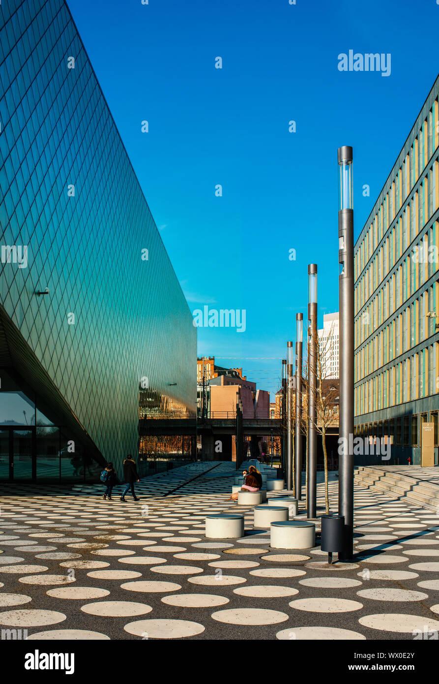the museum Futurium in Berlin Stock Photo
