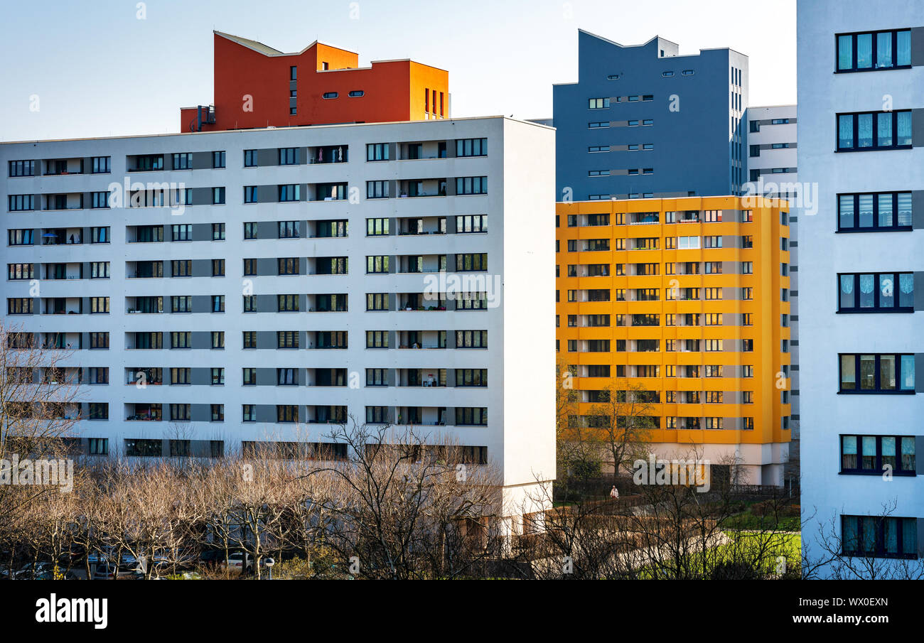 Social housing in Berlin Stock Photo