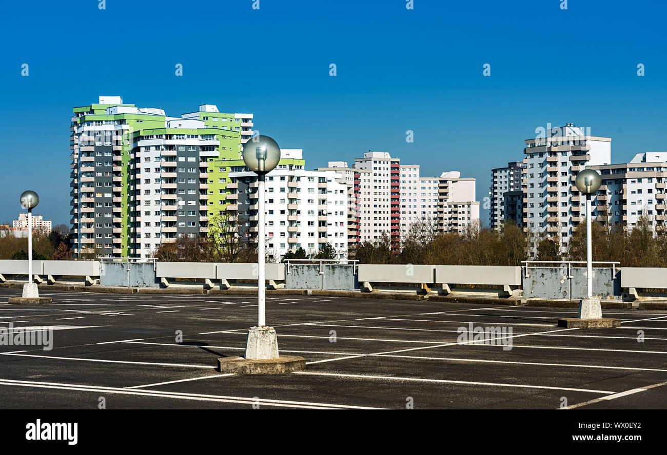 Social housing in Berlin Stock Photo